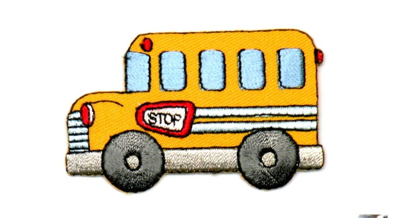 Szkolny Autobus żelazo Na Patch Bus Kierowca Szkole Worek żółty Autobus Szkolny Autokar żółty Autobus Na Patchu Przez Cedar Creek Patch Shop