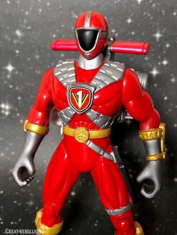 Power Rangers Lightspeed Rescue Red Mega Battle Ranger ...