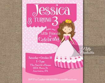 3 Year Old Invite