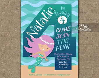 4 Year Old Invite