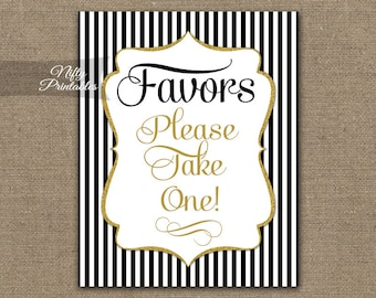 favor table sign etsy