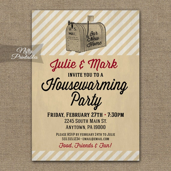 Items Similar To Housewarming Invitations