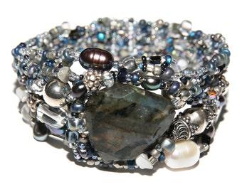 Pdf tutorial pearla bracelet beading instruction instant.