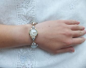 Repurposed Vintage Watch Bracelet
