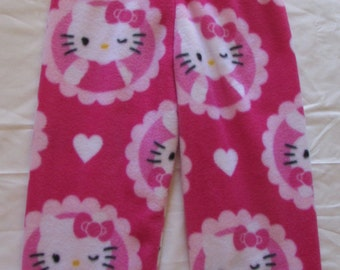Hello Kitty fleece pajamas   girls pajamas   fleece pajama bottoms   girls  fleece pants   junior fleece pajamas   sizes 1T to 16 junior 1bab7849e