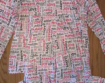 Womens pajamas,knit pajamas,5 prints,womens gift,gift for women,womens pajama set,yoga pajamas,womens winter pajamas,comfortable pajamas
