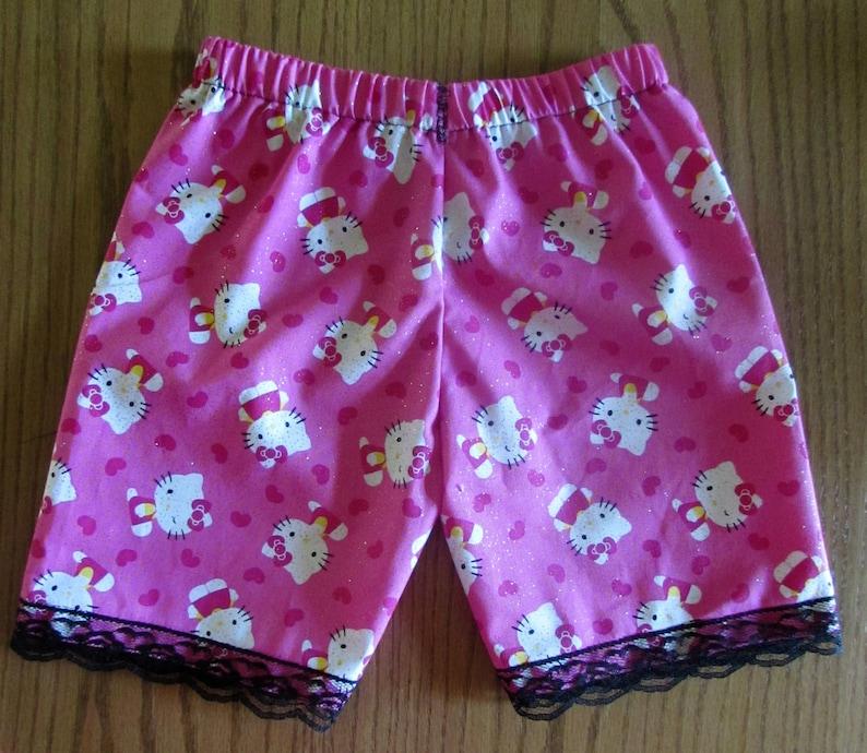 64df1cc00b Hello Kitty shorts /girls shorts/cotton shorts/lace   Etsy