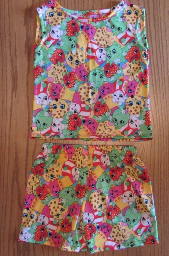 abc0db9494 Shopkins pajamas Shopkins sleep shorts shopkins