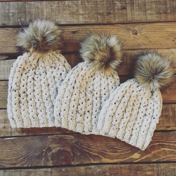 3 Hat Bundle Mommy And Me Hats Mom And Me Hats  1fb111b20fe