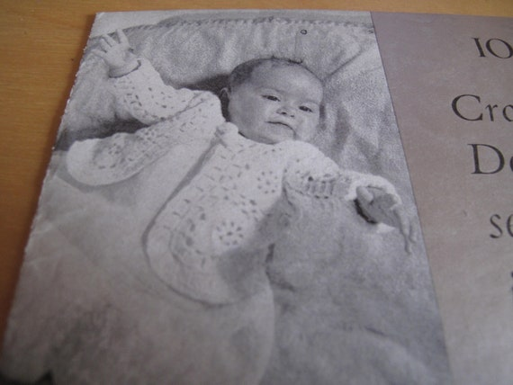 f2cb4dfed 1 Patons   Baldwin 1950 s original pattern 1002 baby