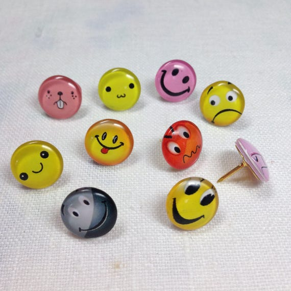 Decorative Push Pins Drawing Pins Decorative Thumbtacks Etsy