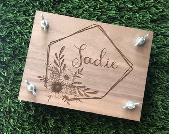 Small Foot Wooden Flower Press
