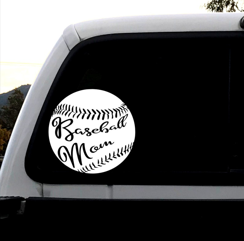 Baseball Decal Mom Gift Birthday Present