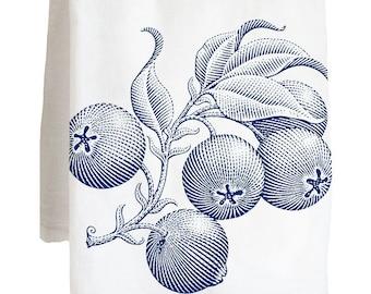 FRUIT BLUEBERRIES - 100% Cotton Flour Sack Kitchen Tea Towel