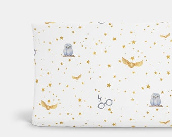 Golden Wizard Changing Pad Cover ~ Wizard Changing Pad ~ Golden Wizard Bedding