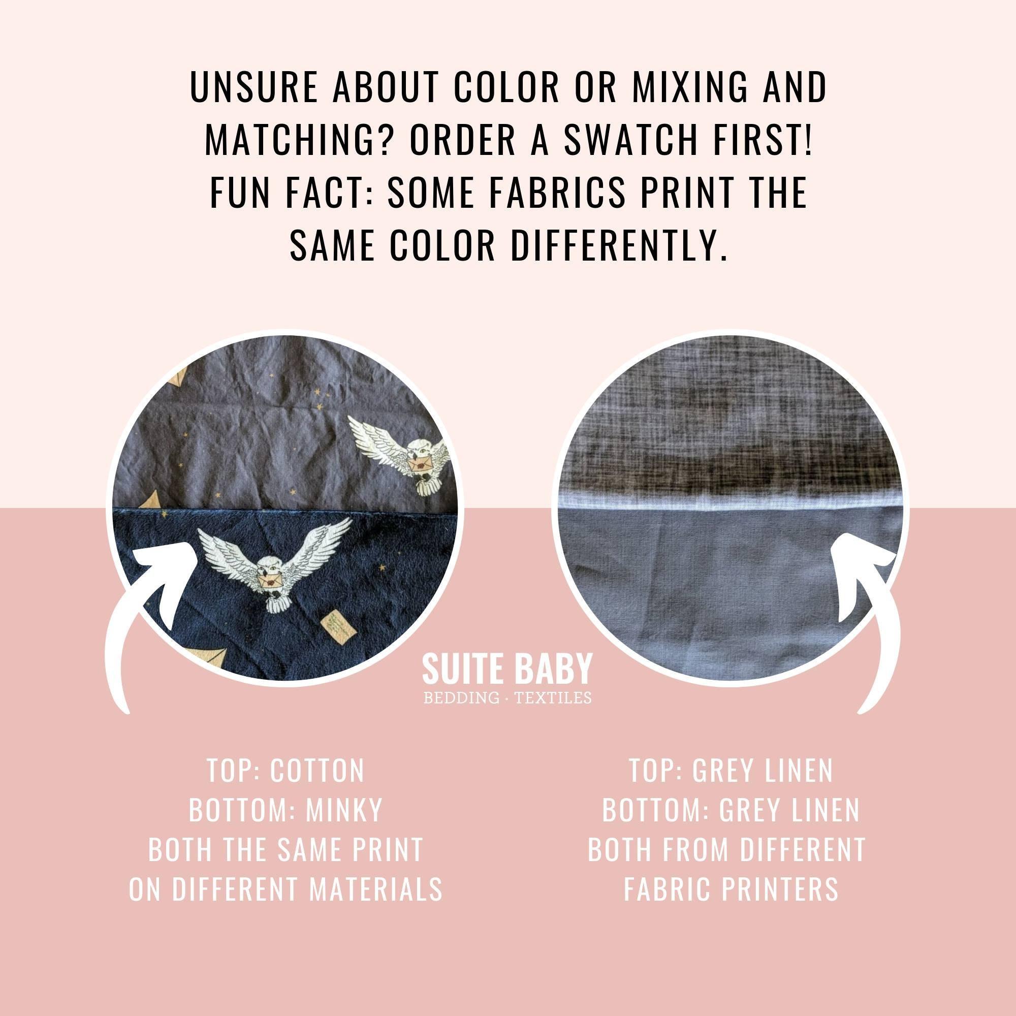 Harry Potter Wasserfarbe Krippenblatt  Passented Crib Sheet