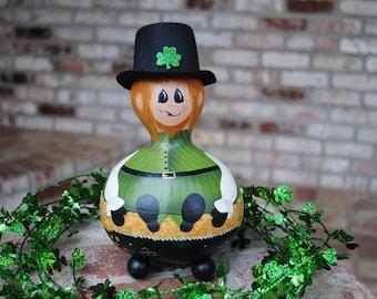 Leprechaun Gourd Decoration