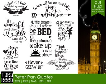 Peter Pan Quote Etsy