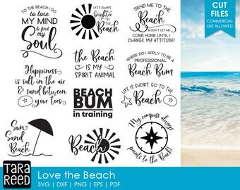 beach svg / beach svg files / beach svg bundle / svg files / svg for cricut / svg for silhouette / love the beach svg / svg bundle