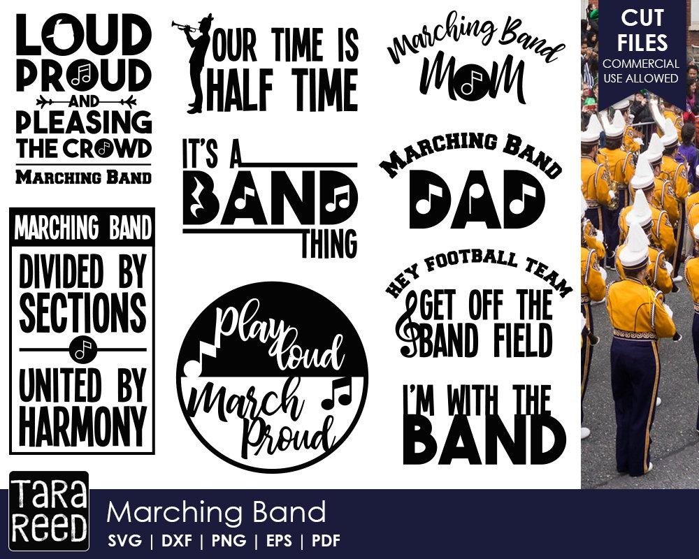 Marching Band svg bundle / Band svg / High School Band svg