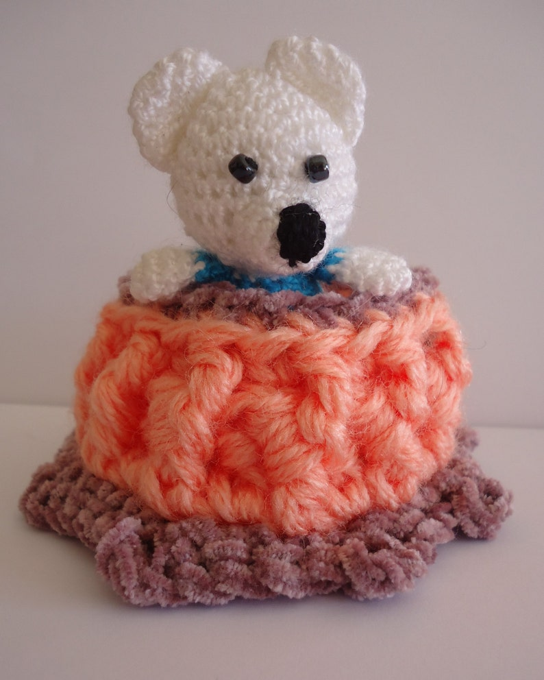 Amigurumi bear toy Crochet Teddy bear Knitted little Gift for girls Little Teddy Bear Knit toy Plush Animal \u0421hildren/'s Birthday Gift