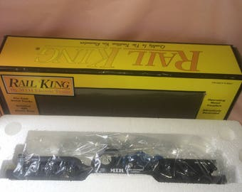 rail king m.t.h farm equipment train new never used mint