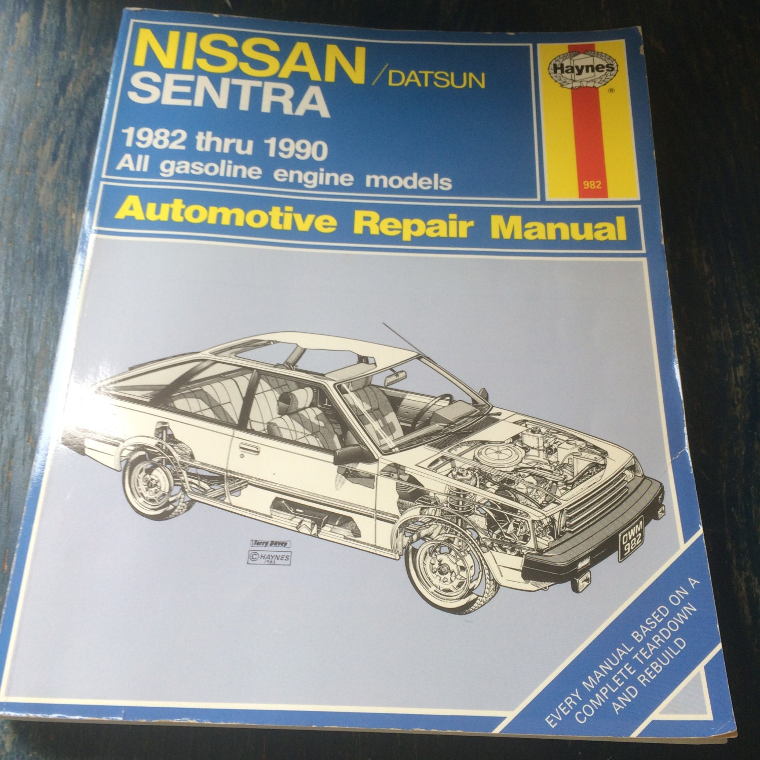 Nissan Datsun 1982 1990 Haynes Repair Manual Etsy Alfa Romeo Manuals Zoom