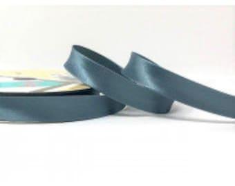 18mm Satin Bias binding 25m rolls, beautiful array of colours