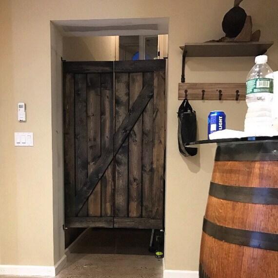 & Saloon Doors...Z Design Jacobean