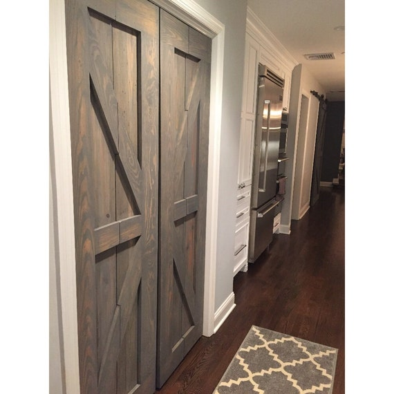 Hinged | Bi Fold | Sliding Pantry Doors by Rustic Luxe - British Brace Design from RusticLuxeBoutique on Etsy Studio  sc 1 st  Etsy Studio & Hinged | Bi Fold | Sliding Pantry Doors by Rustic Luxe - British ...