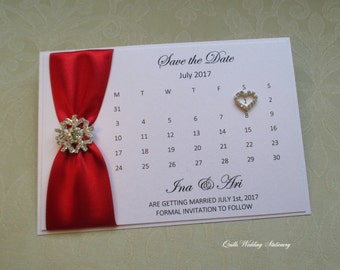 Save the Date card. Winter Wedding. Snowflake Wedding.