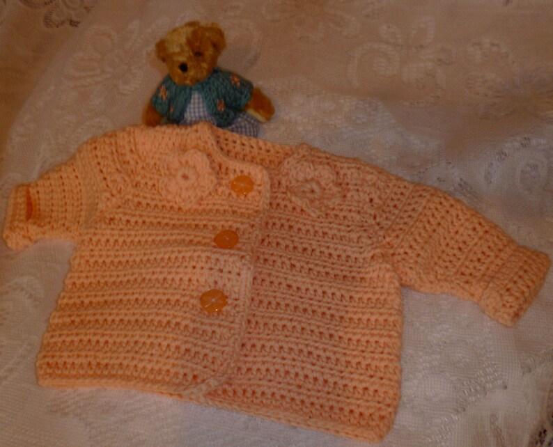 Premature baby cotton jacket