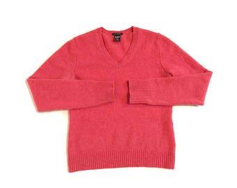 Vintage Pink Gap Lambswool Sweater