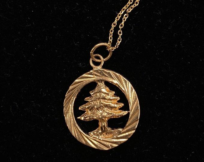 Lebanon Cedar Pendant