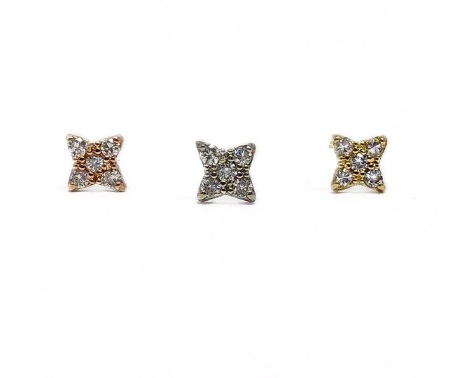 Diamond Twinkle Stud