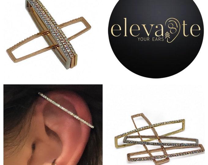 Industrial Diamond Cuff