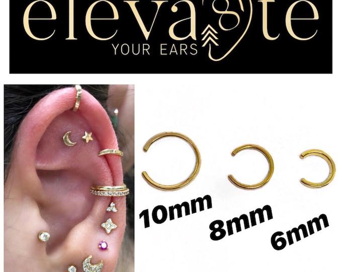 Gold Ear Cuffs