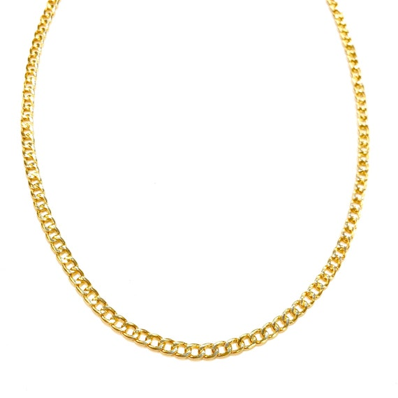 Curb Link Chain in 14k Gold
