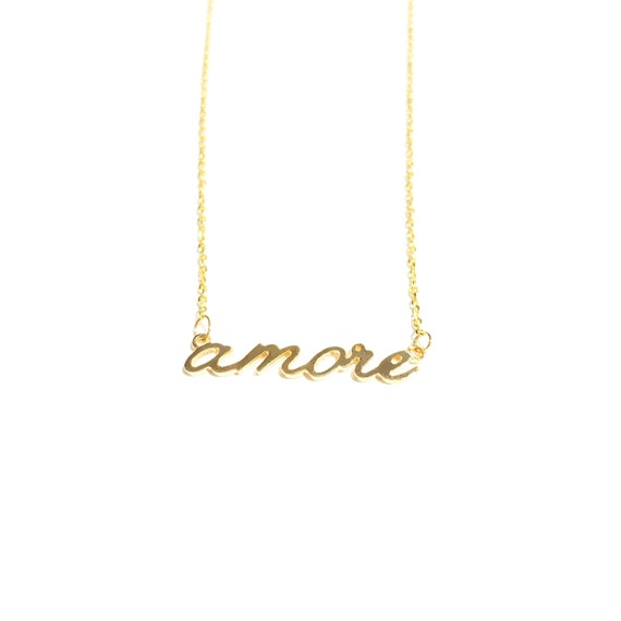 amore in 14k gold