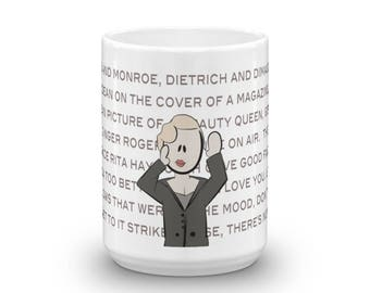 Vogue, Strike a Pose Madonna Character Coffee Mug