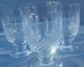 5 Waterford Colleen juice glasses