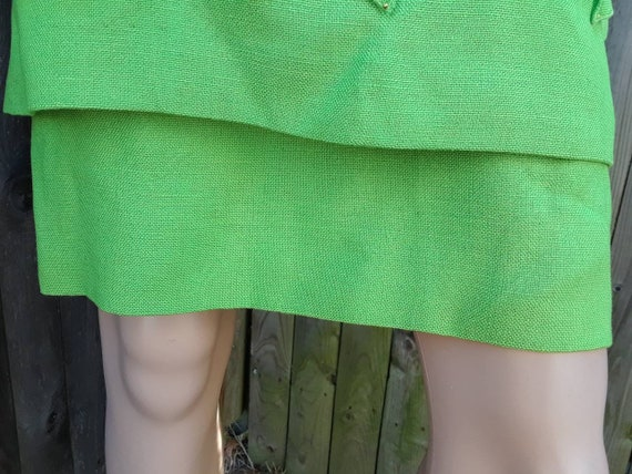 1960's layered two piece A-line dress - image 6