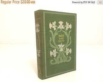 ON SALE The Rubáiyát of Omar Khayyám.Book.Poetry.Poet Astronomer.Alfred, Lord Tennyson.Illustrated.1904.vintage.Antique.Green.Edmund Fitzger