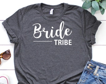 Bride Tribe Shirt • Bride Tribe T Shirt • Bride Tribe Tee • Hen Party Top • Bride Tribe Top •Hen Party Shirt •Hen Weekend Shirt •Bride Shirt