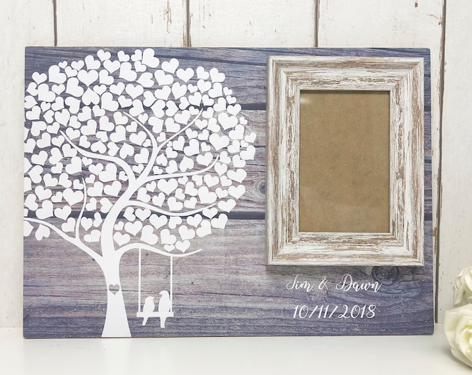 Featured listing image: Alternative Guest Book | Wedding Guestbook | Wedding Guest Book | Alternative Wedding Guest Book |Rustic Wedding Guest Book |Tree Guest Book