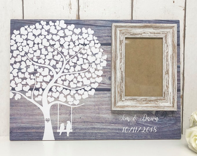 Featured listing image: Alternative Guest Book • Wedding Guestbook • Wedding Guest Book • Alternative Wedding Guest Book •Rustic Wedding Guest Book •Tree Guest Book