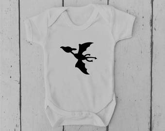 Pterodactyl | Dinosaur | Baby Vest | Baby Grow | Bodysuit | Body Suit | Baby Clothing | Onesie | Baby Boy | Baby Girl | Gift | Baby Shower