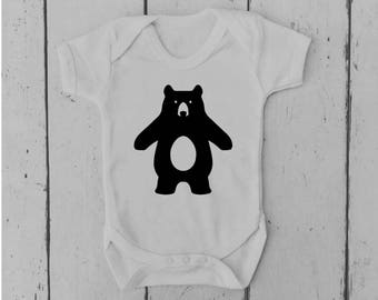 Bear | Baby Vest | Baby Grow | Momma | Daddy | Bodysuit | Body Suit | Baby Clothing | Onesie | Baby Boy | Baby Girl | Gift | Baby Shower