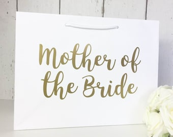 Mother of the Bride Gift Mother of the Bride Gift Bag Mother of the Bride Bag Wedding Gift Bags Thank You Flower Girl Bridesmaid Gift Sister