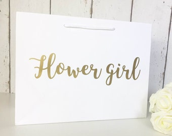 Flower Girl Gift • Flower Girl Gift Bag • Flower Girl Bag • Wedding Gift Bags • Thank You Flower Girl • Flower Girl Gifts • Bridesmaid Gift
